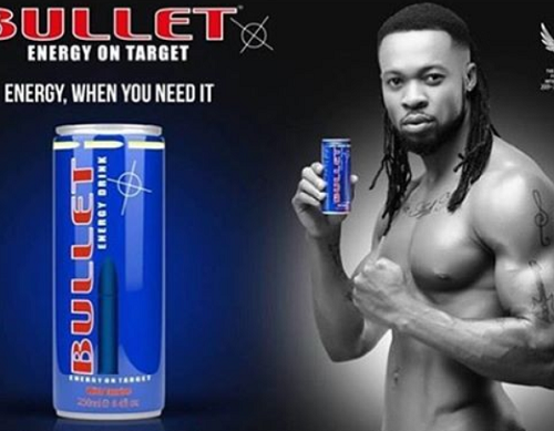 Flavour Joins Chika Ike As An Ambassador Of Bullet Energy Drink