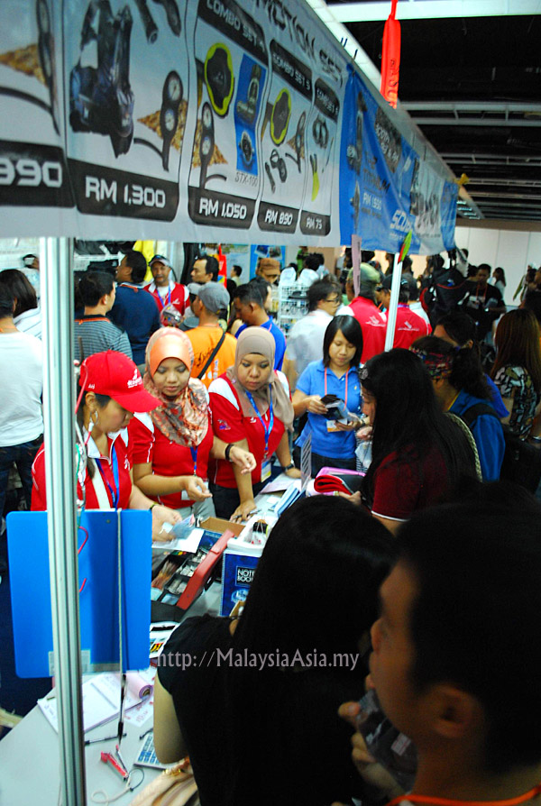 Crowd at MIDE Malaysia