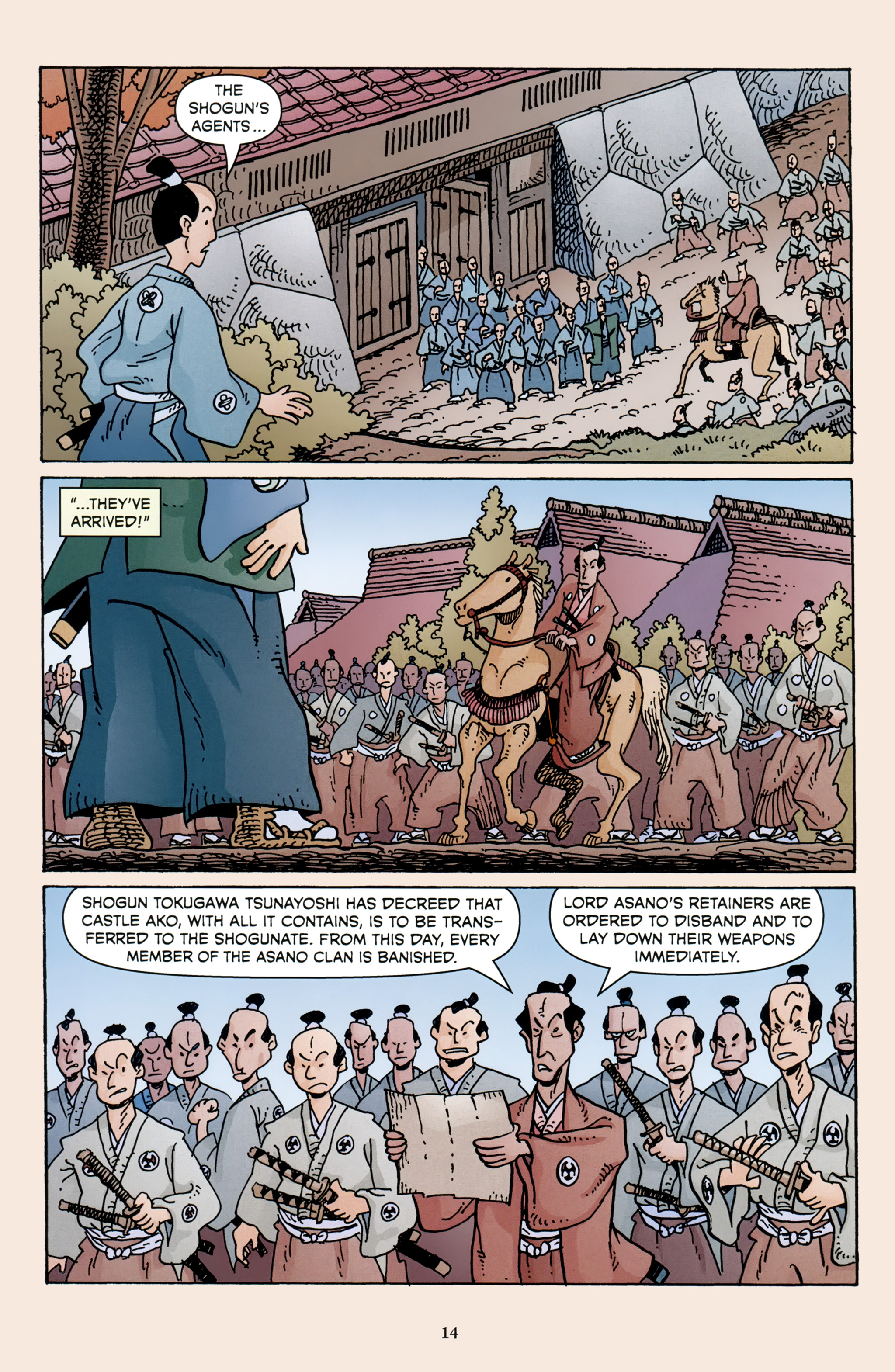 Read online 47 Ronin comic -  Issue #3 - 16