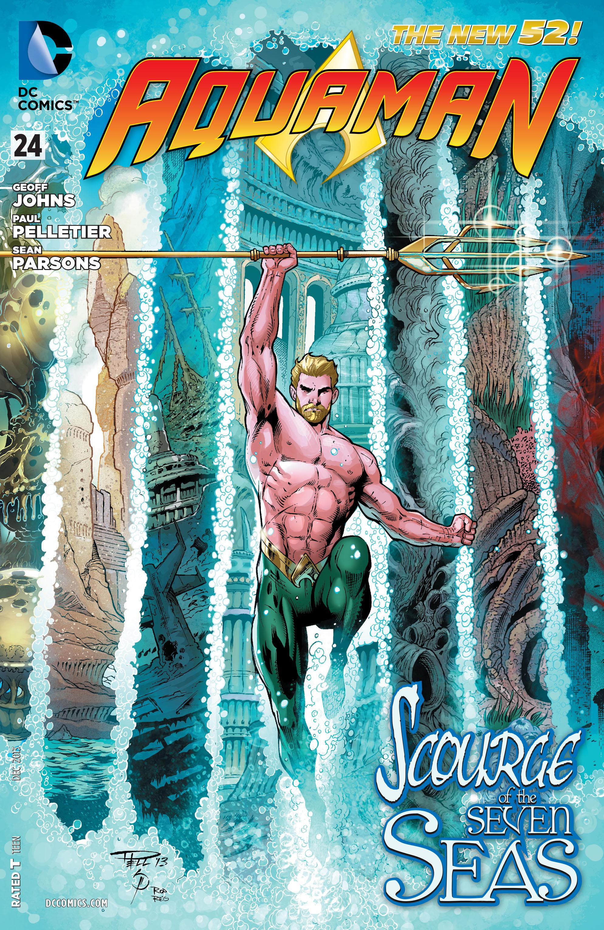 Read online Aquaman (2011) comic -  Issue #24 - 1
