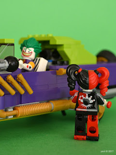 the lego batman movie - the joker notorious lowrider - miss quinn's pin pals