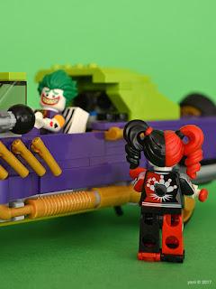 the lego batman movie - the joker notorious lowrider - miss quinn's pin pals