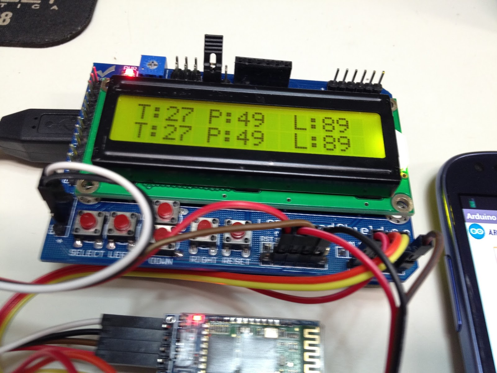Android arduino bluetooth monitor serial