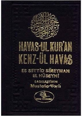 Havas-ul Kur'an Kenz-ül Havas PDF Kitap İndir