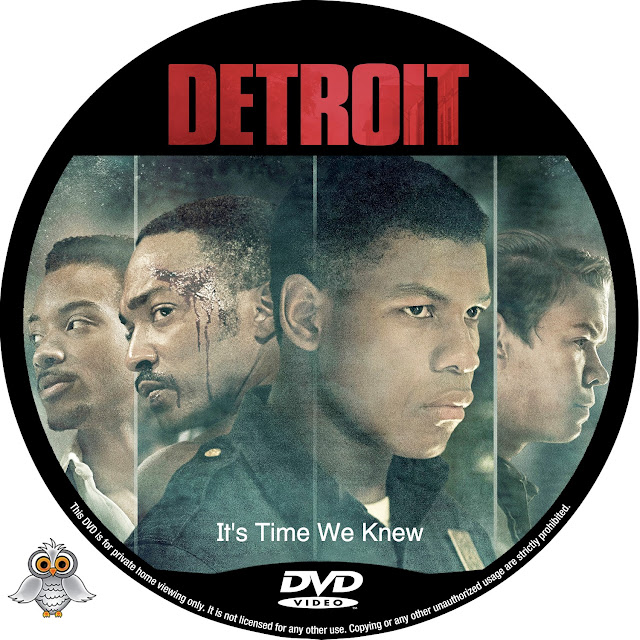 Detroit DVD Label