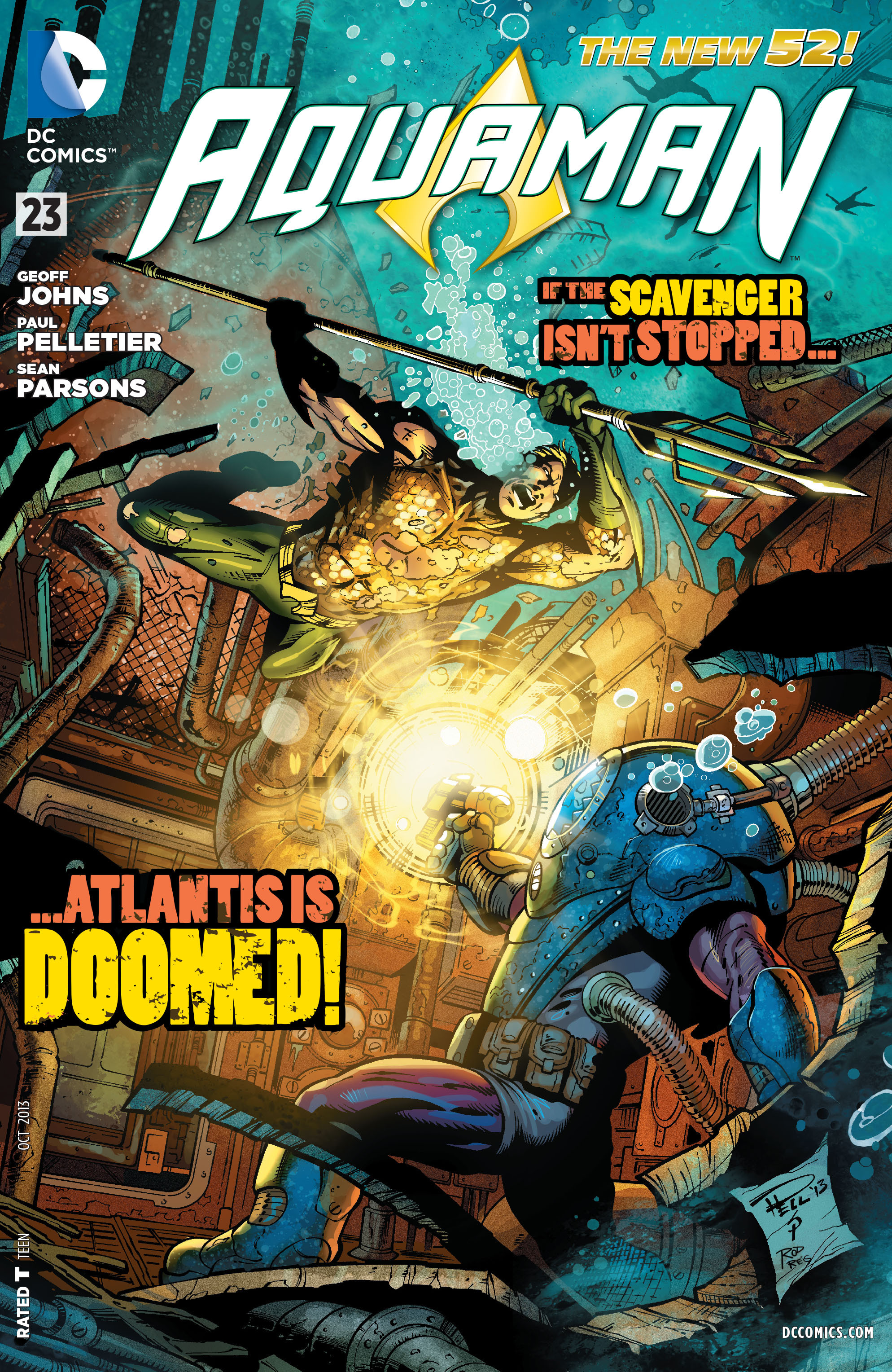 Read online Aquaman (2011) comic -  Issue #23 - 1