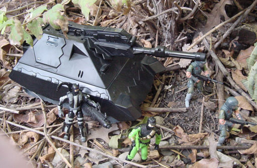 1993 Firefly, Sgt. Savage Iron Panther Tank, 1995, Fast Blast Viper, Viper