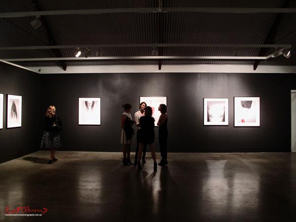 Pat Brassington installation view at Stills Gallery.