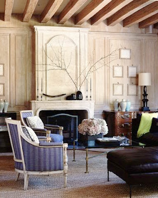 Steven Volpe Interior Design via Belle vivir blog