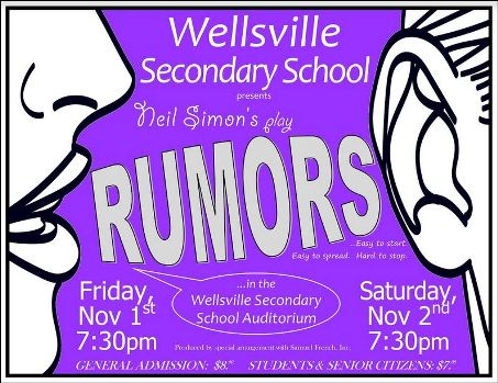 11-1/2 Rumors, Wellsville Secondary School