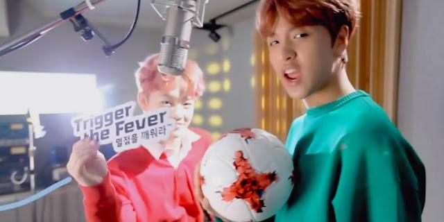 'FIFA U-20 World Cup Korea 2017' အတြက္ NCT Dream အဖြဲ႔ သီဆိုထားတဲ့ 'Trigger the Fever' သီခ်င္းဗီဒီယို ထြက္ရွိလာ