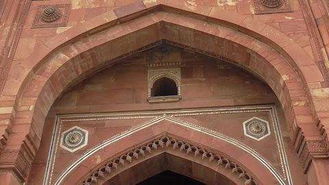 Art Work Old Fort Delhi India 934