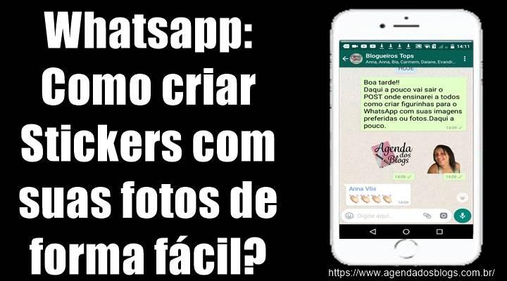 Whatsapp: Como Criar Stickers Com Suas Fotos De Forma Fácil?