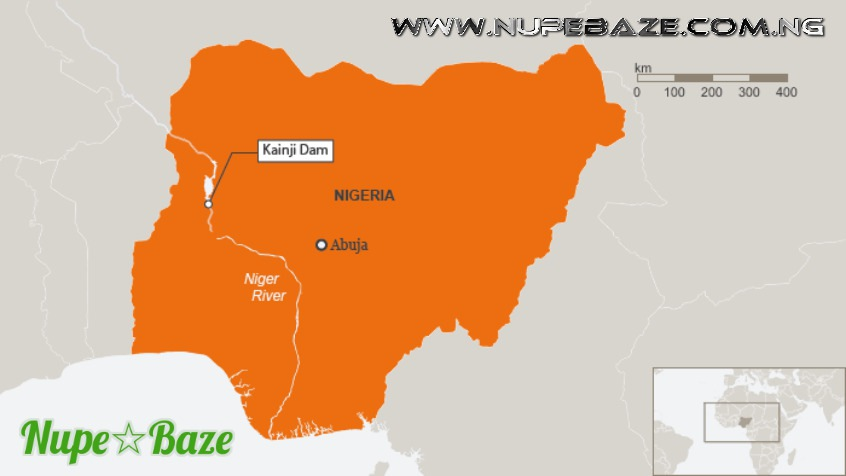 Kainji Hydro Electric Map Niger State History , The History Of Niger State