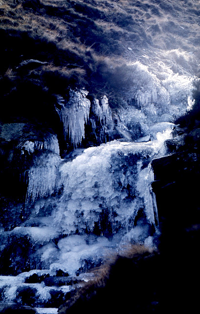 Icicles on the Snake Path: winter 1976