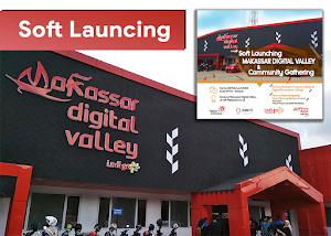 Menghadiri Soft Launching Makassar Digital Valley