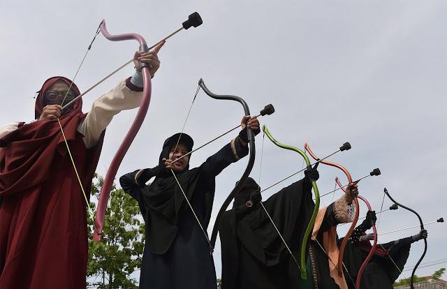 Indonesia's 'Niqab Squad' takes aim at face veil prejudice using Bow & Arrow