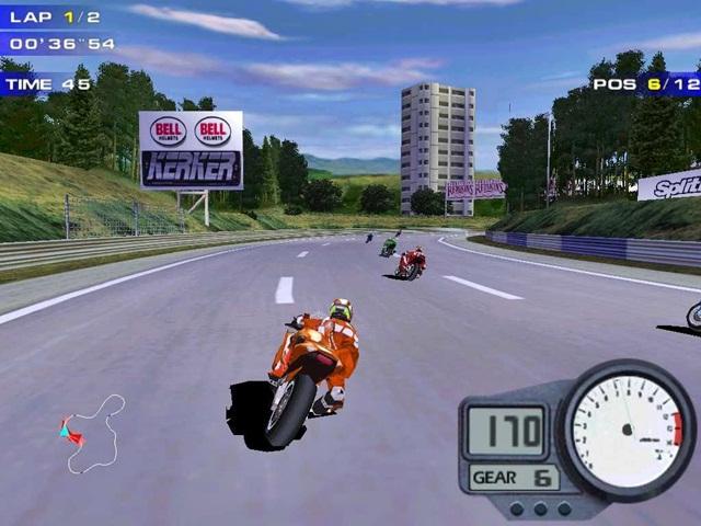 Moto Racer 2 Versi Play Station1 (PSX) - Info Game