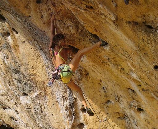 Figuras femeninas de la escalada: Isabel Patissier