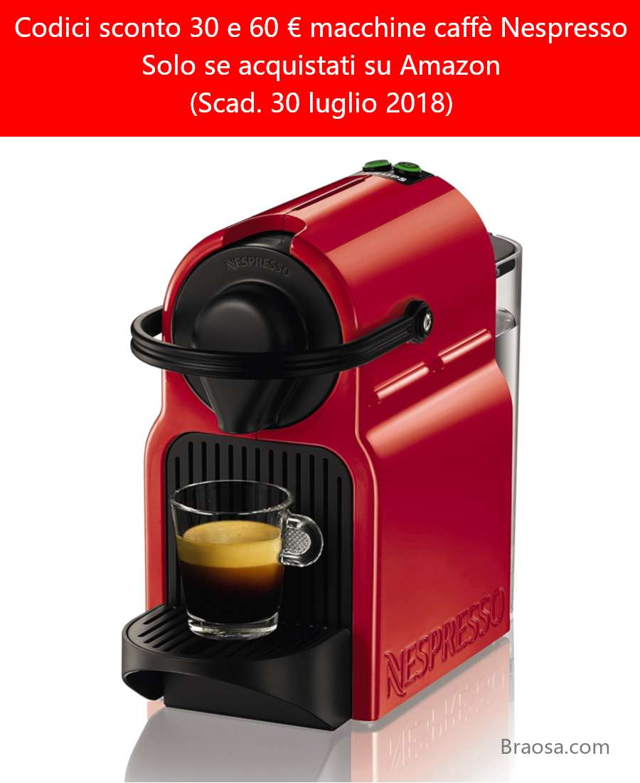 CODICI-SCONTO-MACCHINE-caffe-NESPRESSO-DA-30-E-60-EURO