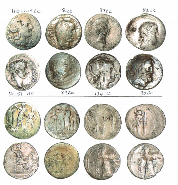 Hoard of Roman republican silver coins found by detectorist in Gloucester field hailed as 'very rare'