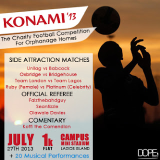 #KONAMI2013 – The Charity Football Competition