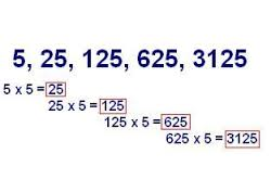 ejemplo de progresiones geometricas