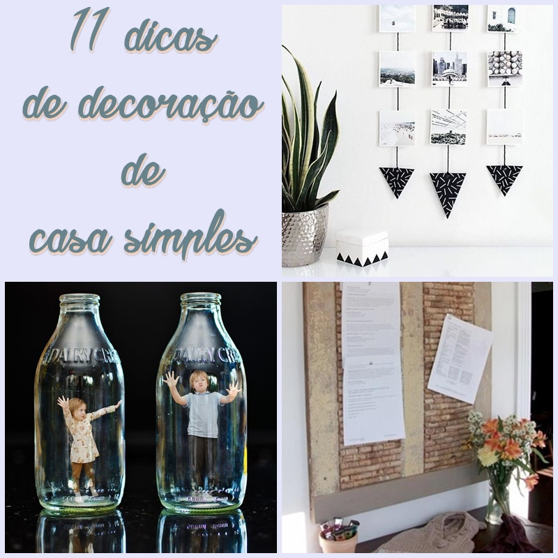 11 Dicas De Decoração De Casa Simples Reciclar E Decorar Blog De