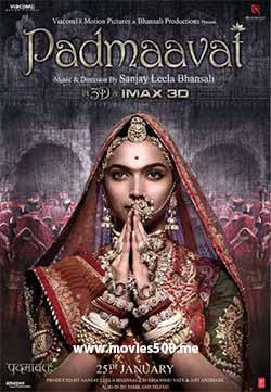 Padmaavati 2018 Bollywood 300MB Full Movie PDVDRip 480p at movies500.info