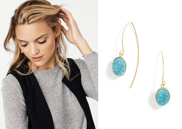 BaubleBar: Druzy Drops only $18 (reg $32) + Free Shipping!