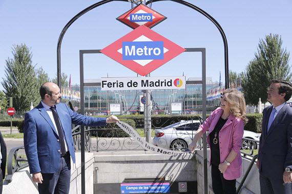 Nueva Estación Feria De Madrid De Metro Línea 8