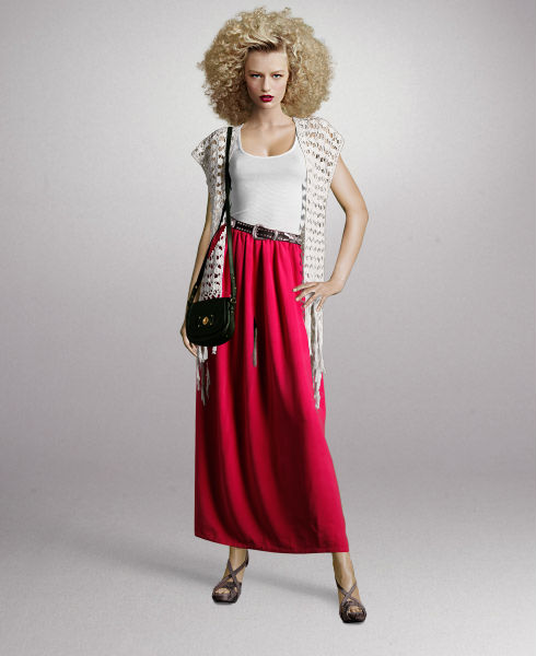 How to wear The Maxi Skirt