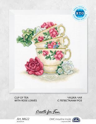 RTO, Чашка чая с лепестками роз