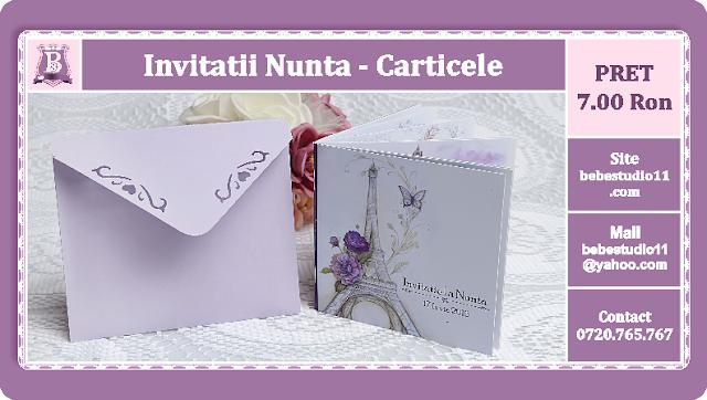 Invitatii Nunta Carticele