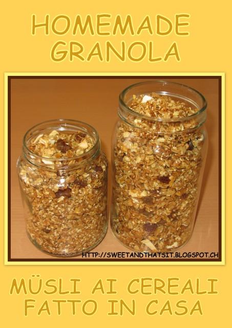 The Kitchen Granola Recipe