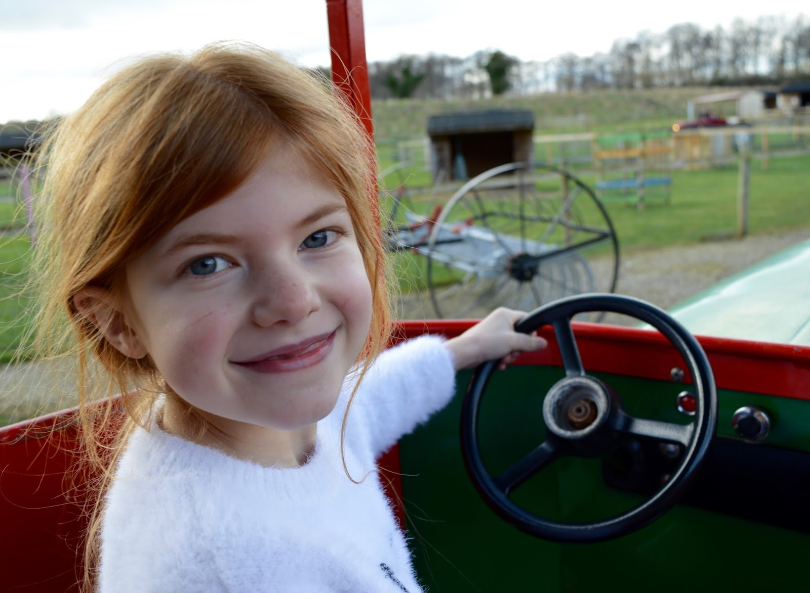 Visiting Angry Birds Activity Park at Lightwater Valley, North Yorkshire - Eagle creek farm ride