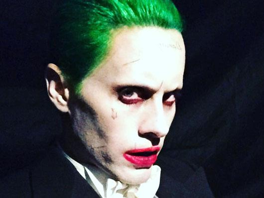 Jared Leto publica nueva foto como el Joker en 'Escuadrón Suicida'
