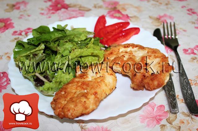 рецепт вкусных отбивных из курицы