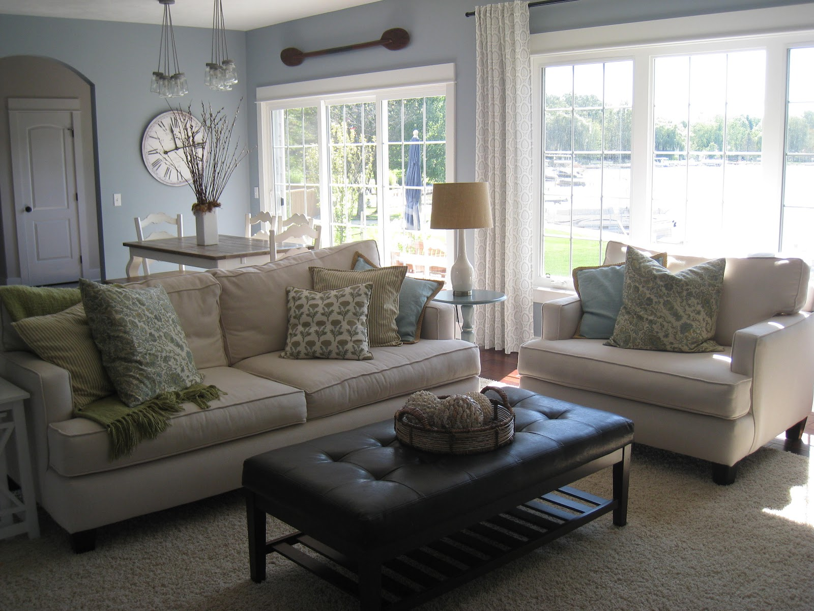 Cozy Living Room: The Lilypad Cottage