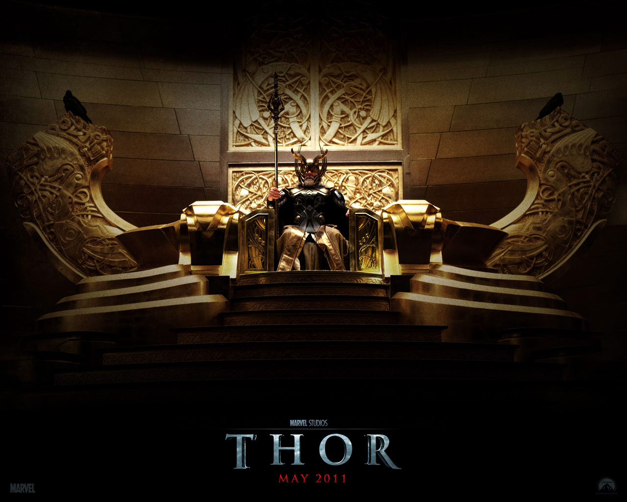 Heimdal Hd Wallpaper: THOR MOVIE WALLPAPERS & POSTERS (2011