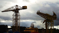 Cranes on the Tyne