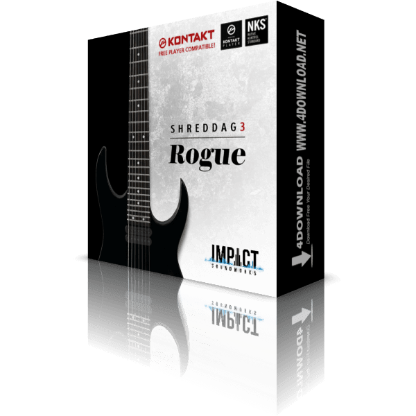 Download Shreddage 3 Rogue KONTAKT Library