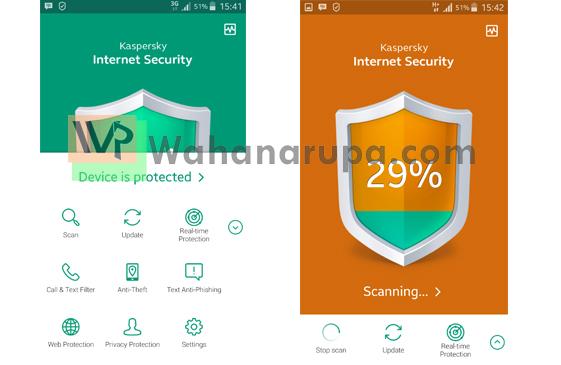 Test Salah Satu Antivirus Terbaik untuk Android - Kaspersky Internet Scurity