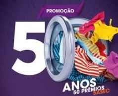 Promoção 50 Anos 50 Prêmios 5àSec Lavanderia