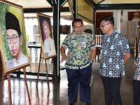 Peringati Hari Pahlawan, Muda Ganesa Gelar Pameran Lukisan