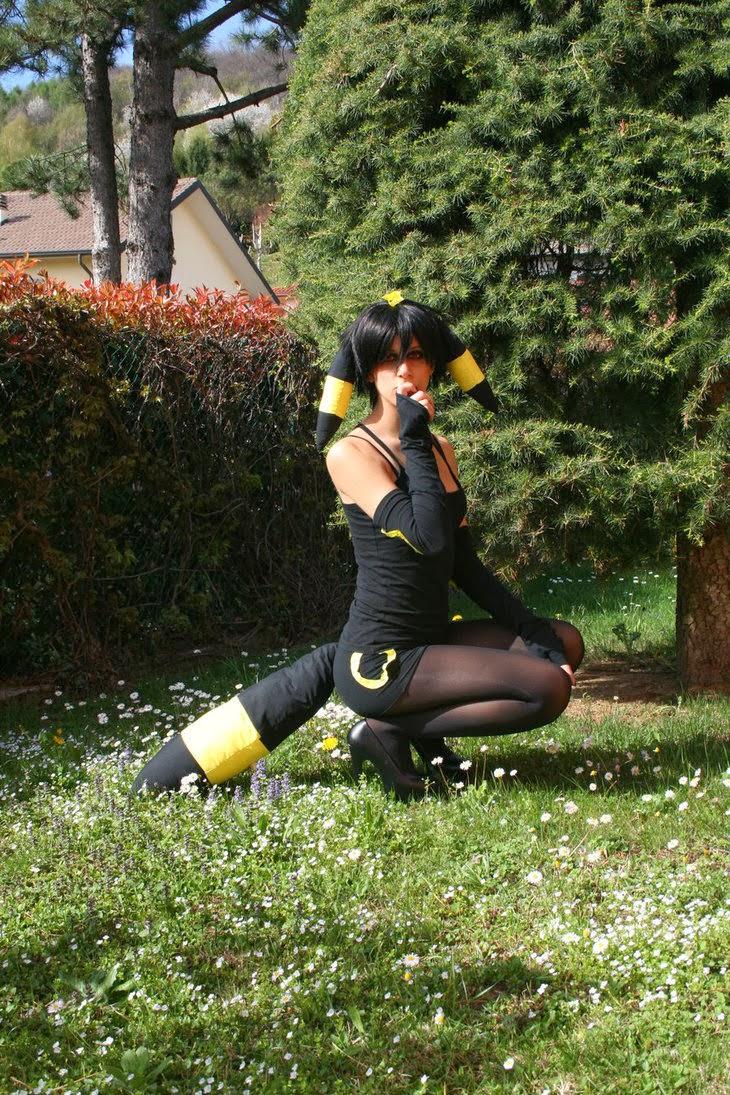 Pokemon Cosplay: Pokemon Human Form Umbreon Cosplay