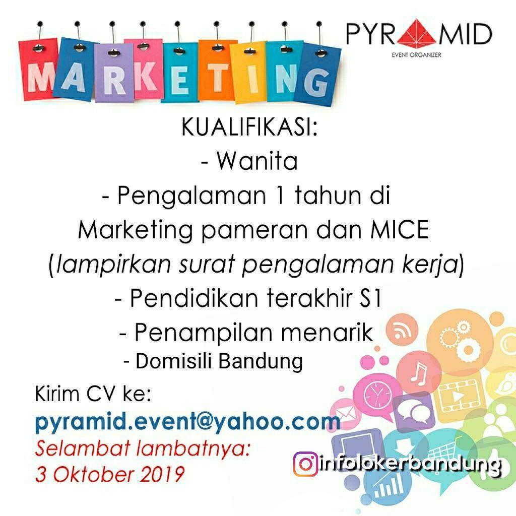 Lowongan Kerja Pyramid Event Organizer Bandung September 2018