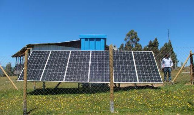 Proyecto de acceso energético en sectores aislados de Los Lagos