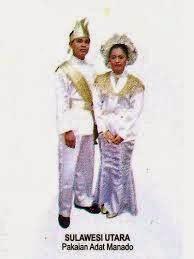 pakaian adat daerah sulawesi utara