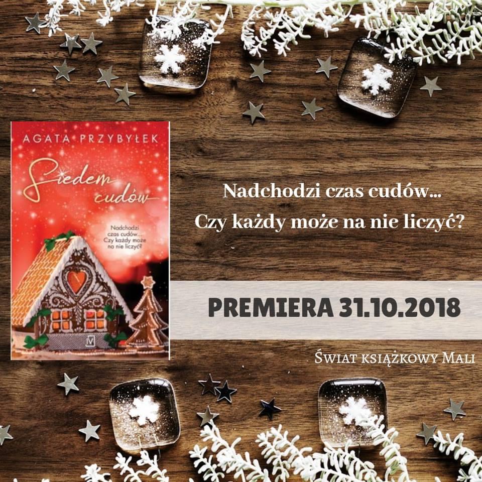 Agata Przybyłek - Siedem cudów - Wydawnictwo Czwarta Strona - Zapowiedź